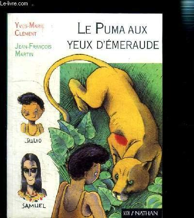 9782092062180: Le puma aux yeux d'émeraude