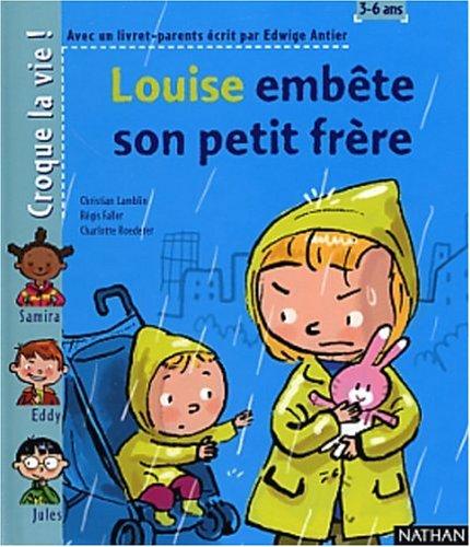9782092111789: Louise embête son petit frère