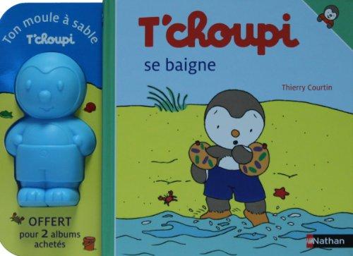 9782092117972: T'choupi se baigne ; T'choupi part en vacances : Coffret en 2 volumes (1Jeu)