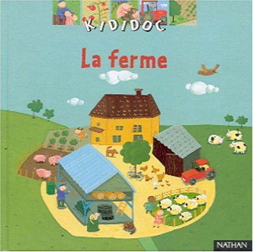 9782092503218: Kididoc: LA Ferme (French Edition)