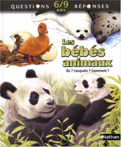 9782092505908: Les bébés animaux