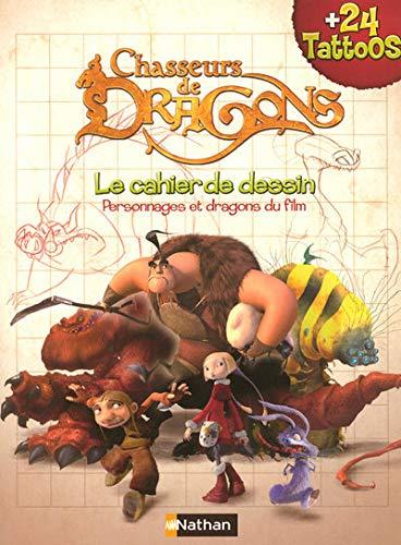 9782092519325: Chasseurs de Dragons : Le cahier de dessin, Livre tattoos