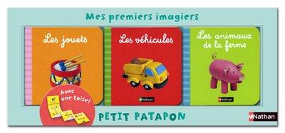 9782092533444: Mes Premiers imagiers - petit patapon - les jouets/les vehicules/les animaux de la ferme