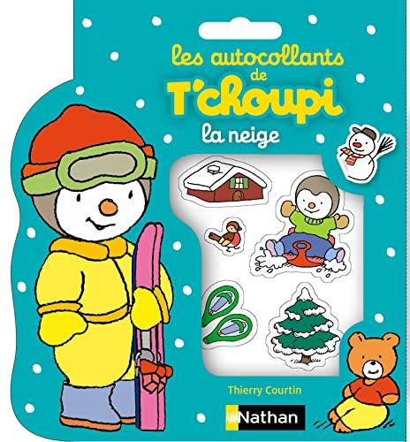 9782092537329: Les autocollants de T'choupi à la neige (Autocollants T'Choupi)