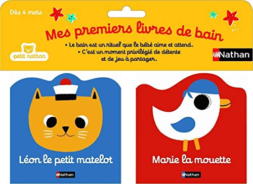 9782092537473: Léon le petit matelot ; Marie la mouette (Mes premiers livres de bain)