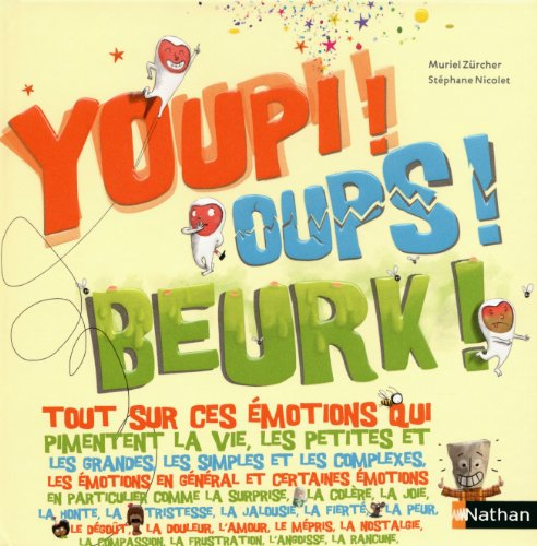 9782092537633: Youpi ! oups ! beurk !