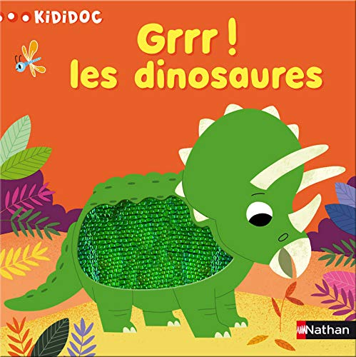 9782092537862: Grrr ! Les dinosaures (Kididoc)