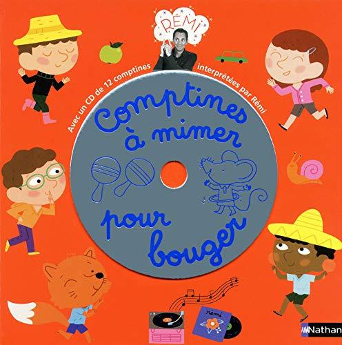 9782092538265: comptines a mimer pour bouger livre + cd