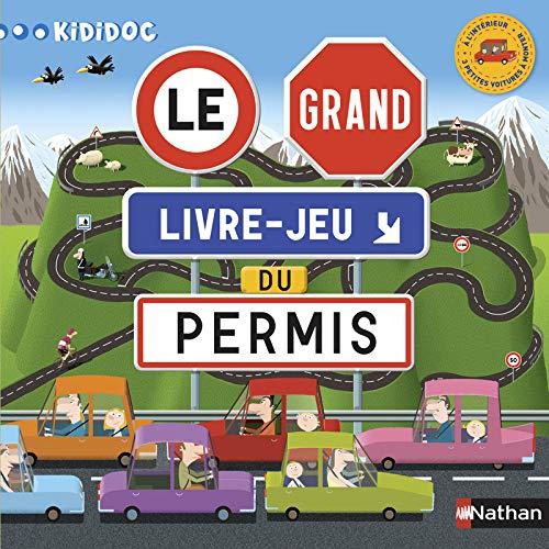 9782092543467: Le grand livre-jeu du permis (Kididoc)