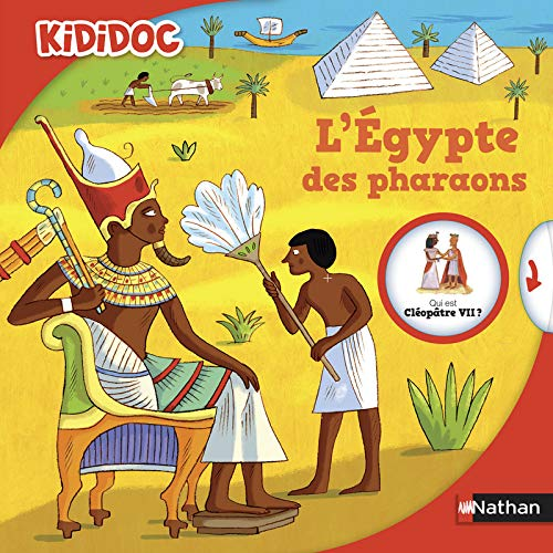 9782092553961: L'Egypte des pharaons (Kididoc)