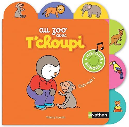 Au zoo avec T'choupi - Nº 13: Courtin, Thierry