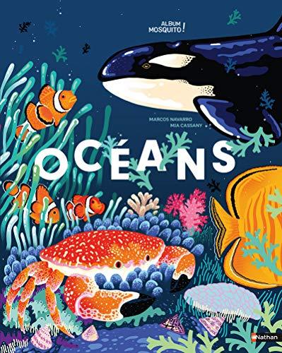 9782092590188: Océans - Un magnifique livre pour partir à la découverte de notre planète bleue et des merveilles des océans - jeu cherche et trouve - Grand format - Dès 5 ans
