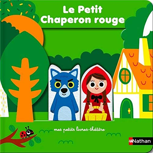 9782092593035: La Petit Chaperon rouge - livre théâtre avec marionnettes à doigts pour donner vie à l'histoire et aux personnages - Dès 18 mois