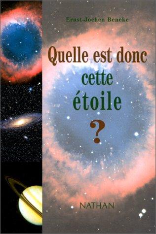 9782092609750: Quel est donc cette étoile ?