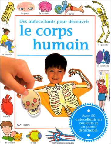 9782092631904: Des autocollants pour découvrir le corps humain