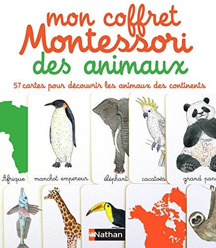mon coffret Montessorie ; des animaux: Eve Herrmann