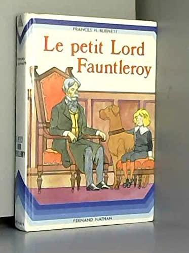 Le petit lord fauntleroy: BURNETT, Frances