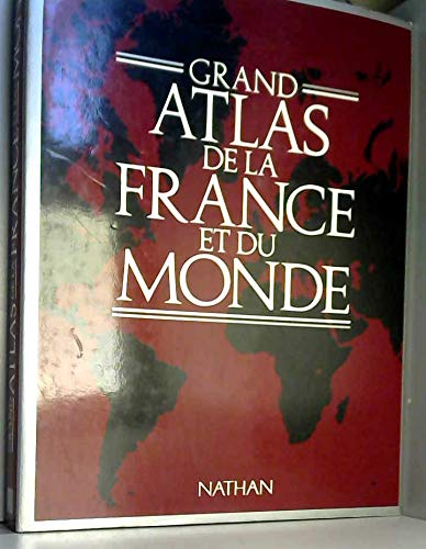 Grand atlas de la France et du monde