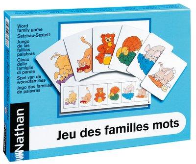 9782093371762: Jeu des familles : mots