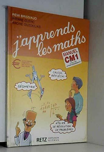 9782096018275: J'apprends les maths, CM1. Manuel et Fichier d'activités