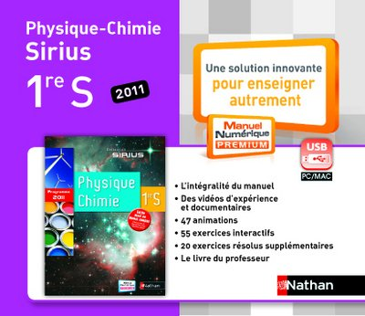 Cle Usb Physique-Chimie 1e S Mne Tna