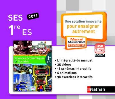 Cle Usb S.E.S. 1e 2011 Mne Tna
