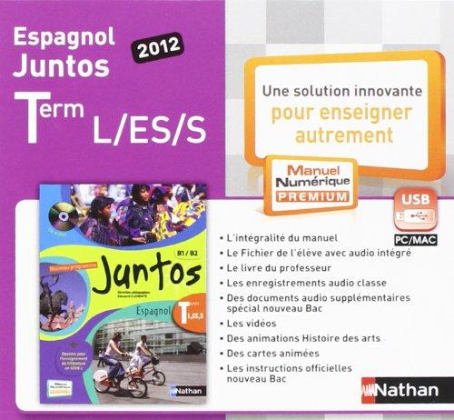 9782098101883: Cle Usb Juntos Terminale Manuel Numerique Tarif Non Adoptant 2012