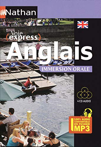 9782098108448: Anglais Immersion Orale - Pack 4 CD