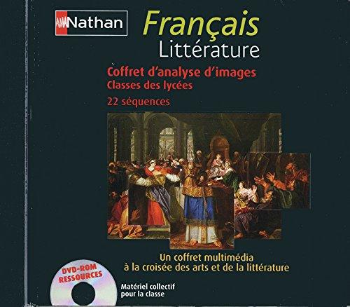 """""""français ; classes des lycées ; littérature ; coffret d'analyses d&..."""