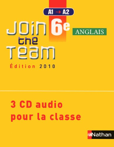9782098760615: Join the Team: CD Audio (3) 6e
