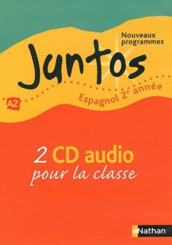 """""""espagnol ; 2ère année ; niveau A2 ; 2 CD audio (édition 2009)"""""""