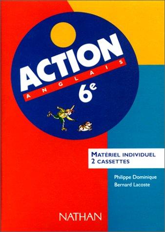 9782098763616: Action : Anglais 6e LV1 (coffret 2 cassettes)