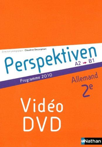 PERSPEKTIVEN; allemand ; 2nde ; dvd vidéo (édition 2010)