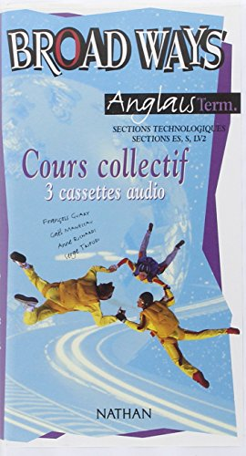 9782098766877: Broad ways terminale stt 3k7 audio classe (French Edition)