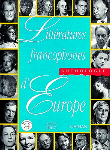9782098824065: Litterature Francophones Europe (French Edition)