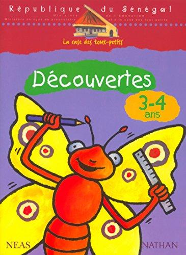 9782098825352: D�couvertes, 3-4 ans - Version S�n�gal