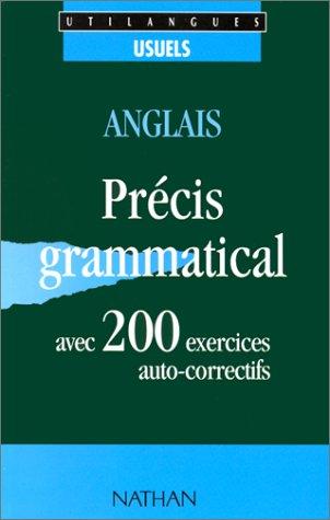 9782098863231: Anglais, 200 exercices: Avec pr�cis grammatical et corrig�s