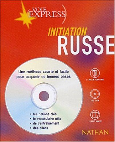 9782098867772: Russe : Initiation (2 livres + 1 CD audio)
