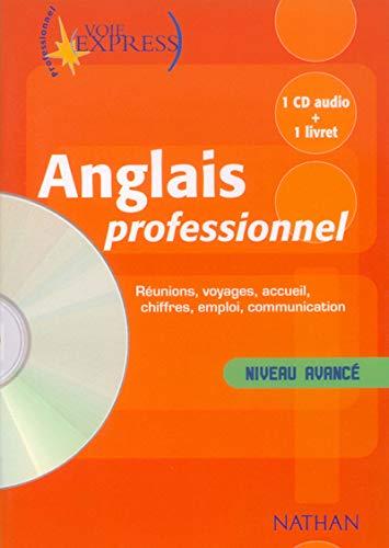 9782098868946: Voie express anglais professionnel niveau avance 1 CD audio + 1 livret