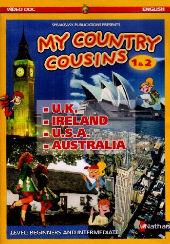 9782098996212: PACK DVD/POSTERS MY COUNTRY COUSINS 1/2 Livre scolaire