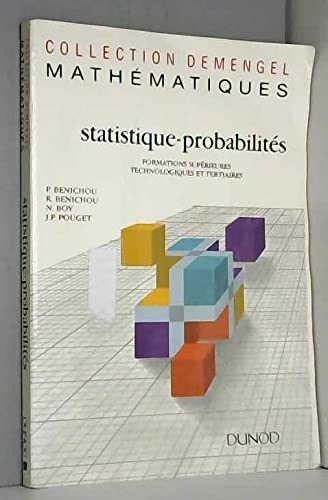 9782100011247: Statistique, probabilités : Formations supérieures technologiques et tertiaires