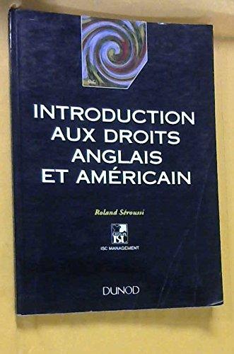 9782100022939: Introduction aux droits anglais et am�ricain