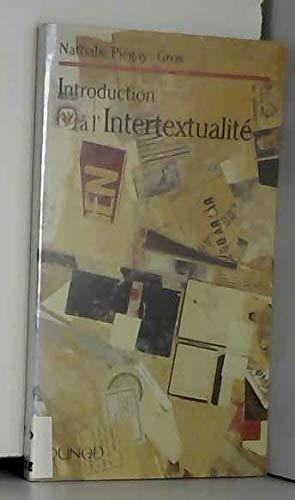 9782100028122: Introduction à l'intertextualité