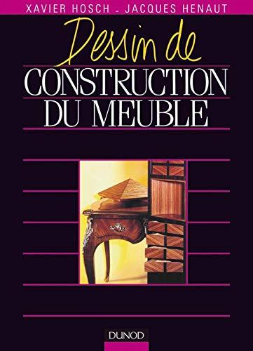 9782100033065: Dessin de construction du meuble
