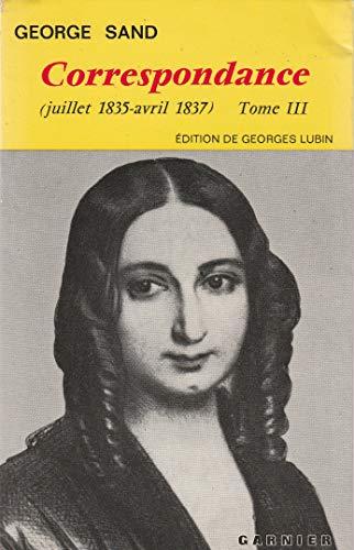 9782100035069: Correspondance (juillet 1835-avril 1837) Tome III