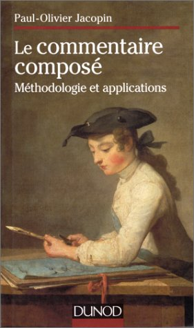9782100035533: Le commentaire compos�. M�thodologie et application