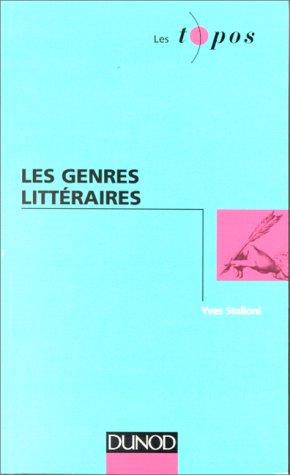9782100035649: Les genres littéraires