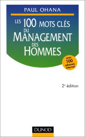 9782100043330: Les 100 mots clés du management des hommes, 2e édition