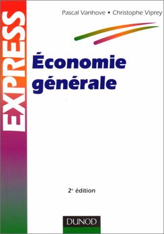 9782100044085: ECONOMIE GENERALE. 2ème édition