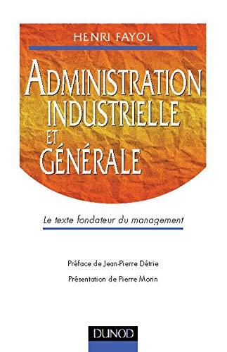 9782100044238: Administration industrielle et générale